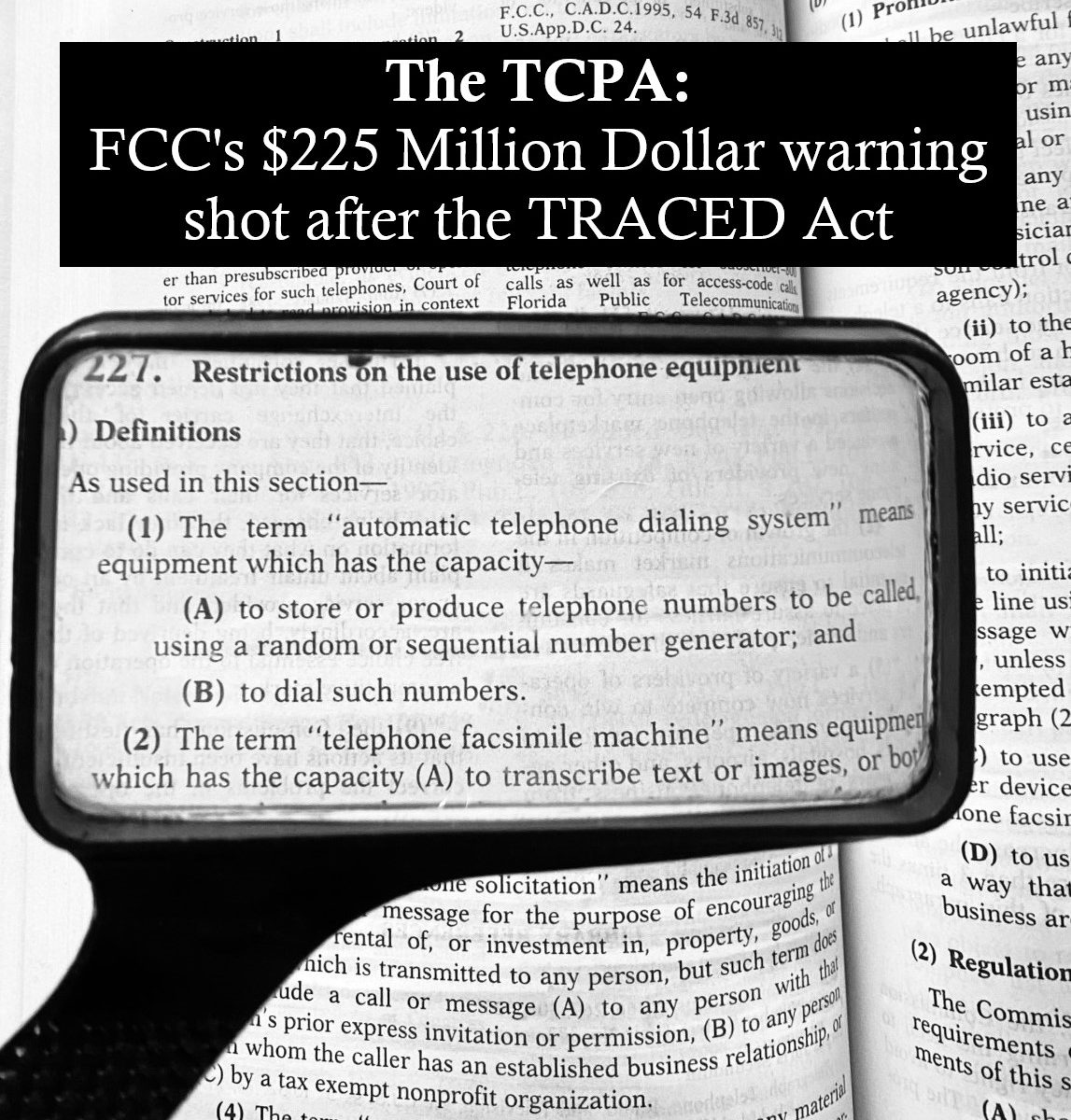 TCPA FCC TCPA attorney